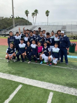 Boy's Soccer Win with a Special Guest! - News and